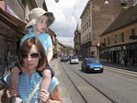 P and Atticus on Ilica. Zagreb's equivalent of Market Street. Or Oxford Street for Brits.